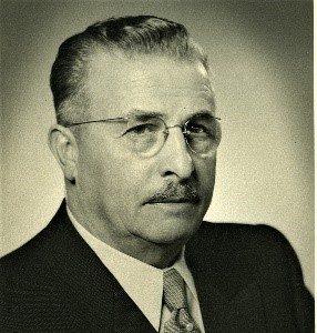 Firmengründer Gustav Epple in den frühen 50er-Jahren.